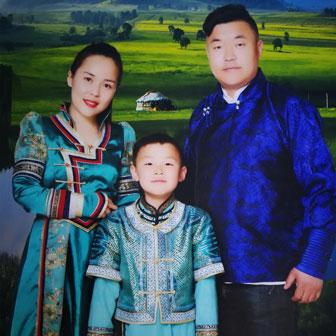 蒙古人的毡房