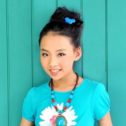 汉族小孩子可爱照片